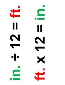 My homework customary units of length
